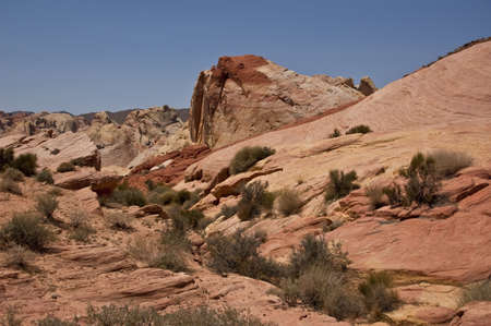 Valley of Fire State Park View Stock Photo