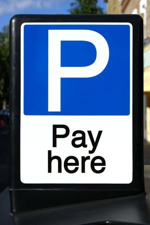 Pay and Display sign