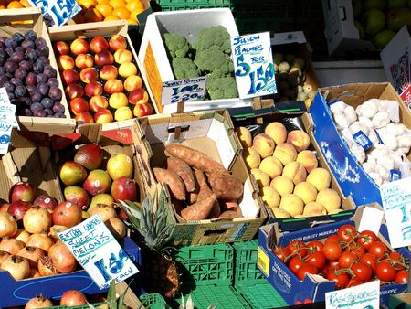 veg: Fruit  and Veg Market Stall