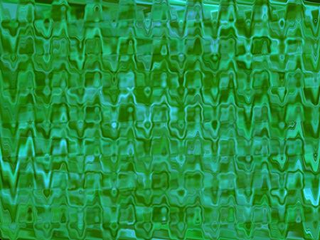 Green Dimpled Glass Background