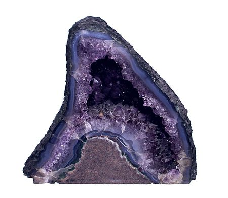 A Close Up of some Amethyst Crystal photo