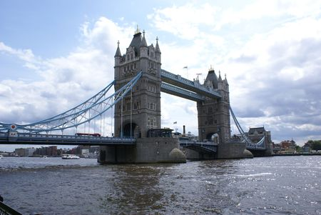 Tower Bridge in London, England, United Kingdom Stock Photo - 1343258