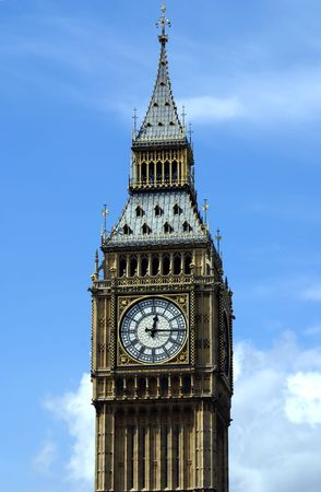 Big Ben Clock Tower in London England Stock Photo - 1343263