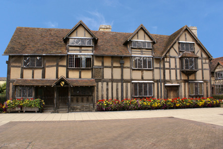 William Shakespeare's Birthplace in Stratford, England Stock Photo - 1504729