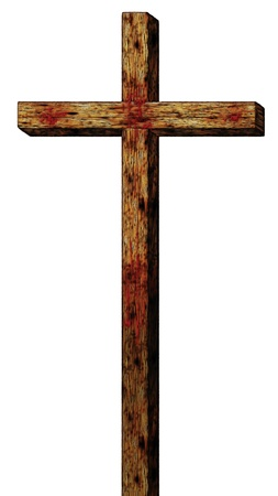 キリストの十字架のイラスト。