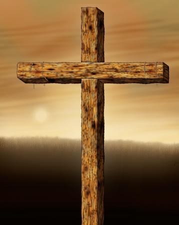 キリストの十字架のイラスト