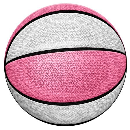 バスケット ボールのデジタル イラストです。