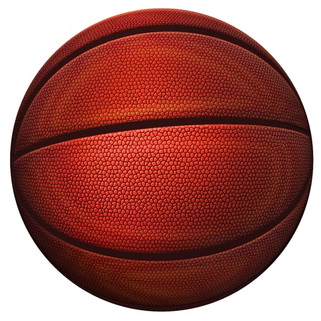 Digital illustration of a basketball. Stock Illustration - 17095891