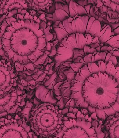 そのまま使用する花の背景として合成写真。