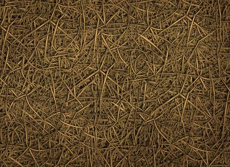 Illustration of hundreds of thorns to use as a background. Reklamní fotografie