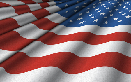 Background pattern of the flag of the United States. Stock Photo
