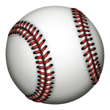 Illustratie van een honkbal.