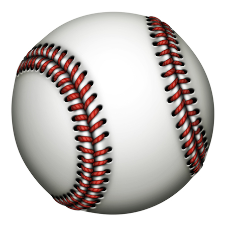 Illustration of a baseball.