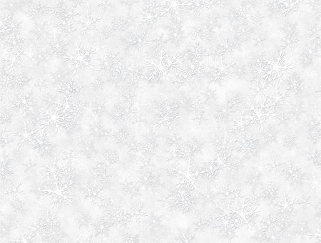 Digital illustration of hundreds of snow flakes filling the entire image.