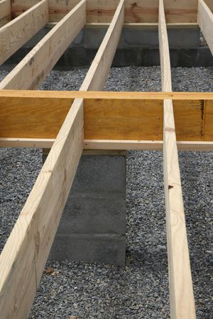 housebuilding: House framing - floor joists