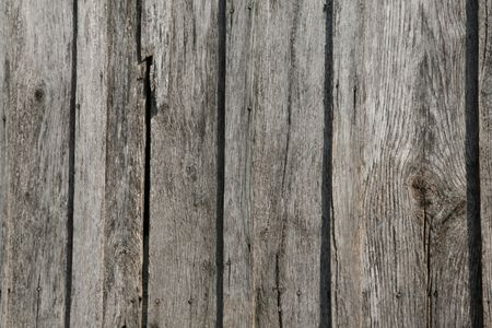 old fence: Barn wood with rusty nails - horizontal image