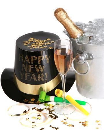 New Years Celebration 스톡 콘텐츠