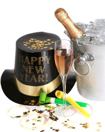 New Years Celebration Stock Photo
