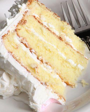 Closeup Kuchen und Gabel Standard-Bild - 6209188