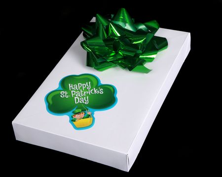 Gift for St. Patrick's Day Stock Photo - 6508867
