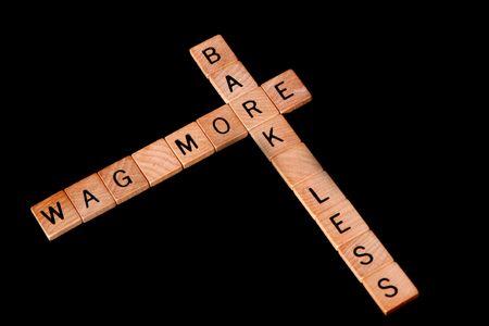Wag more, bark less motivational saying
