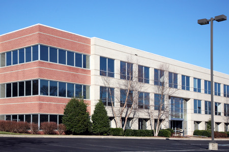 office building exterior: Modern office building Stock Photo
