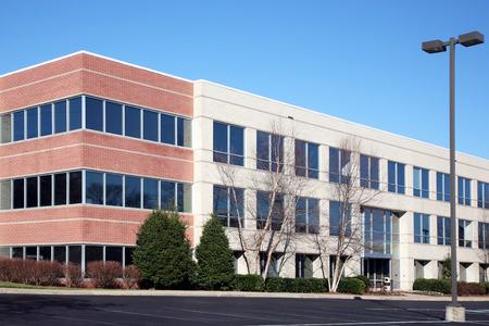 ufficio aziendale: Moderno edificio per uffici