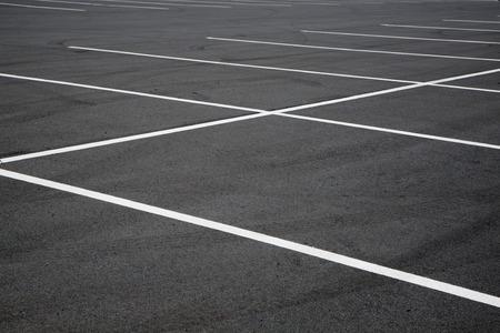 dreamscape: Empty parking lot spaces