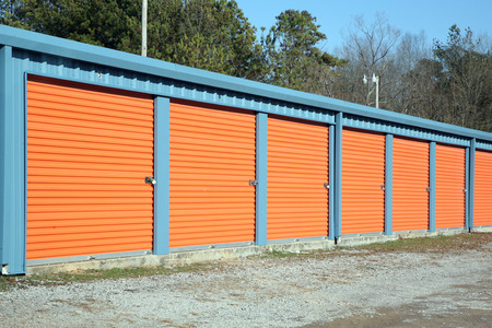 storage facility: Self Storage Facility Stock Photo