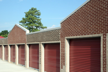 Self Storage Facility Stock Photo