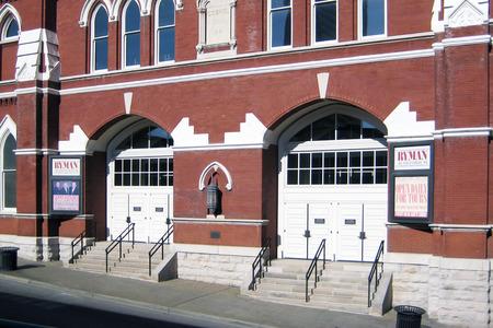 tabernacle: Ryman Auditorium in Nashville, Tennessee Editorial