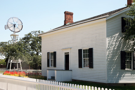 the white house: DEARBORN, MI-MAY, 2015:  Birthplace of Henry Ford.  The home has been fully restored and is in Greenfield Village in Michigan. Editorial