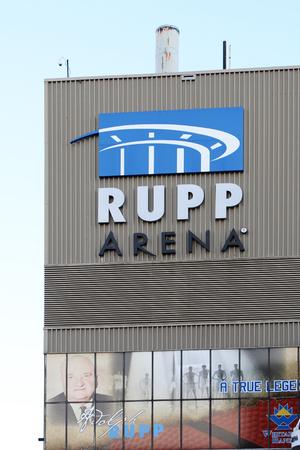 LEXINGTON, KENTUCKY-JANUARY 20, 2018:  Rupp Arena is the home of Kentucky basketball. 新闻类图片