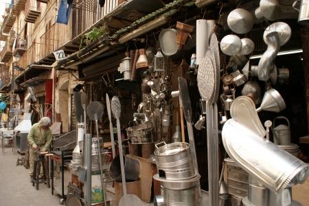 craftmanship: Palermo, Italy - March 31, 2011 - Sicily craftmanship Editorial