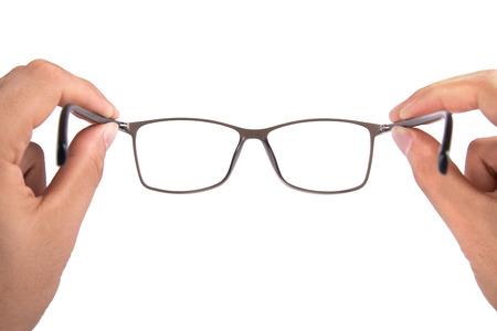 reading glasses: Glasses Stock Photo