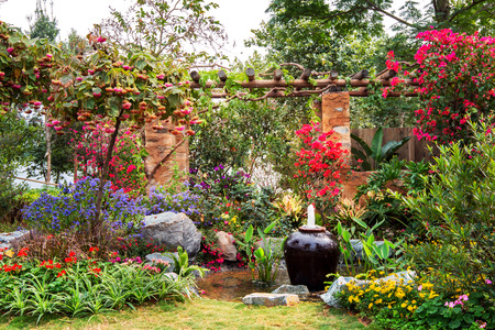 Garten Standard-Bild - 39680032