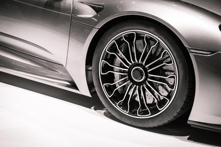 スーパーカー 写真素材