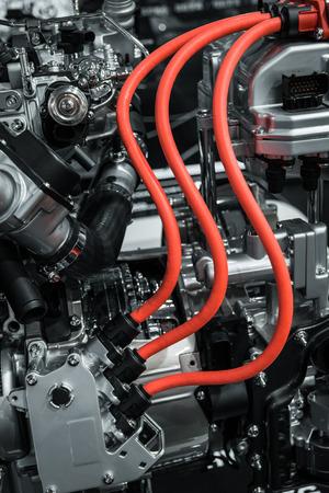 race car: Part of cars engine