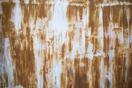 oxidation: Old metal surface Stock Photo