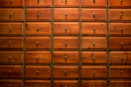 antique shop: Chinese medicine drawer