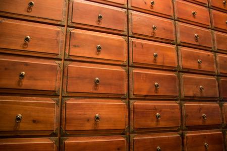 Chinese medicine drawer
