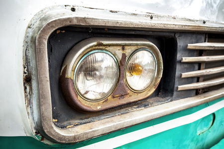headlight: Old cars headlight