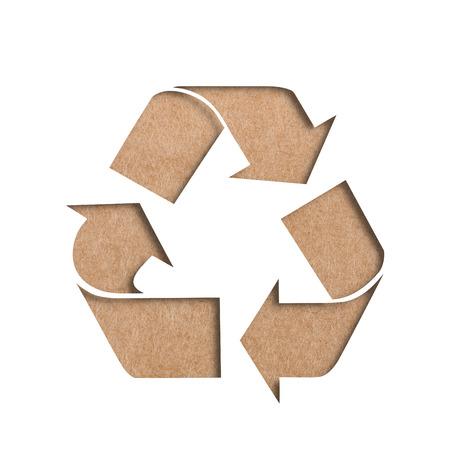 reciclar: Recycle symbol