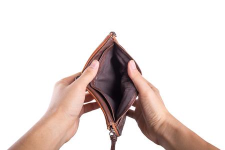 空の財布 写真素材