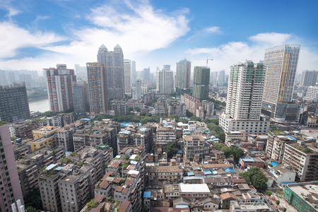 urbanism: Cityscape Stock Photo