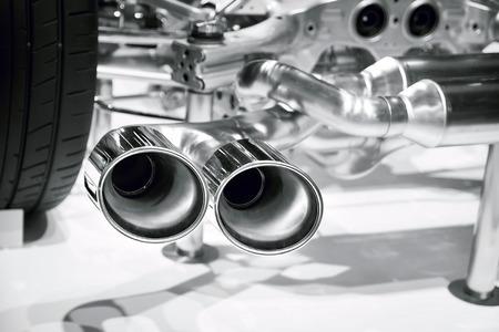 Car's pipe