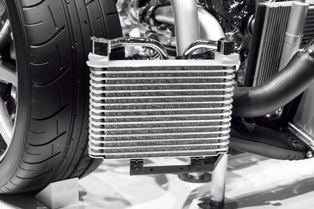 condensing: Cars radiator