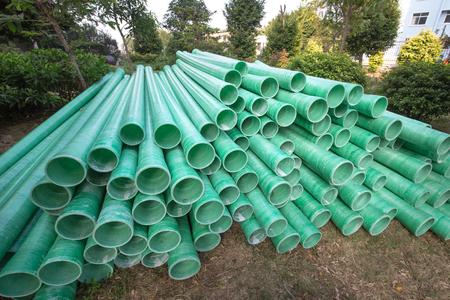plastic pipe: Industrial plastic pipe Stock Photo