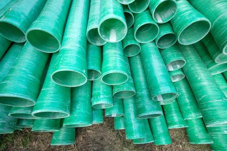 kunststoff rohr: Industrial plastic pipe Lizenzfreie Bilder