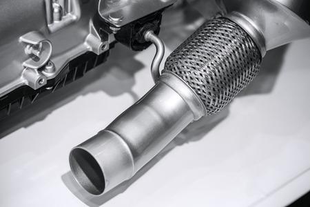car engine: Cars pipe
